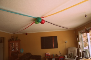 Our own big top decor.