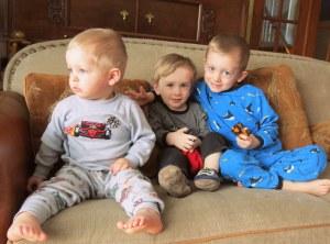 Three amigos together