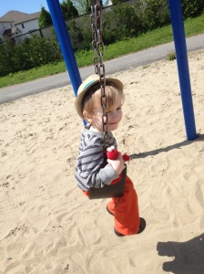 Time at the park counts as an activity right? I plan on bringing him to the park once a day when he's at home.