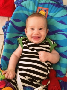 Freddy at 3 months