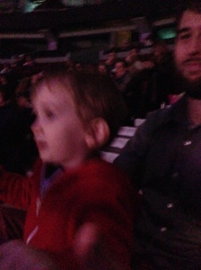 kind of blurry since Henry was dancing and clapping
