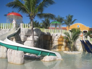One of the cool water parks