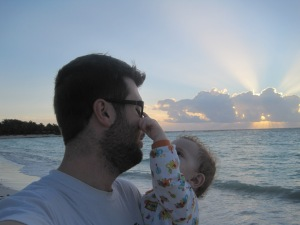 sunrise with daddy