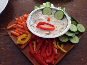 Since Henry loves monsters so much, I decided to have fun with the food.