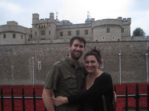 Date day at the Tower of London