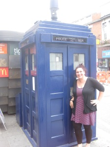 We found the TARDIS! It's bigger on the inside.