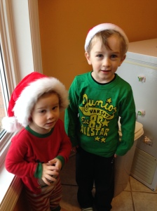 My little Christmas Elves...